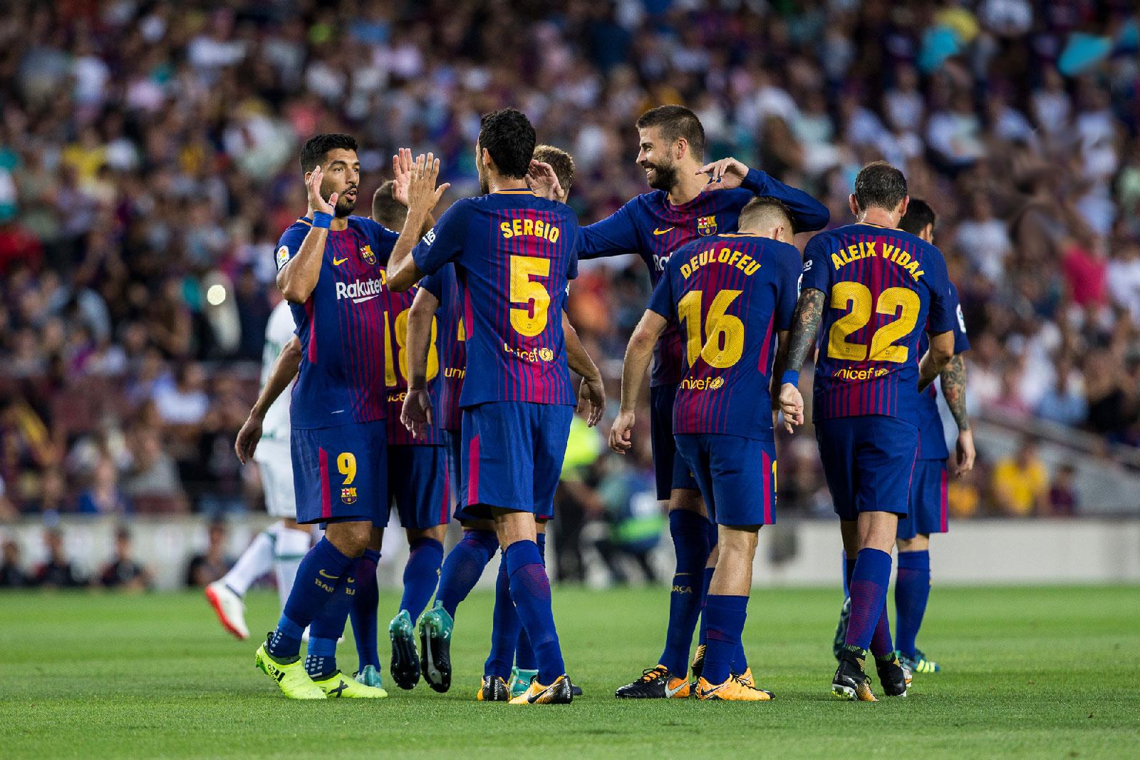 Barcelona đã tiến rất gần chức vô địch