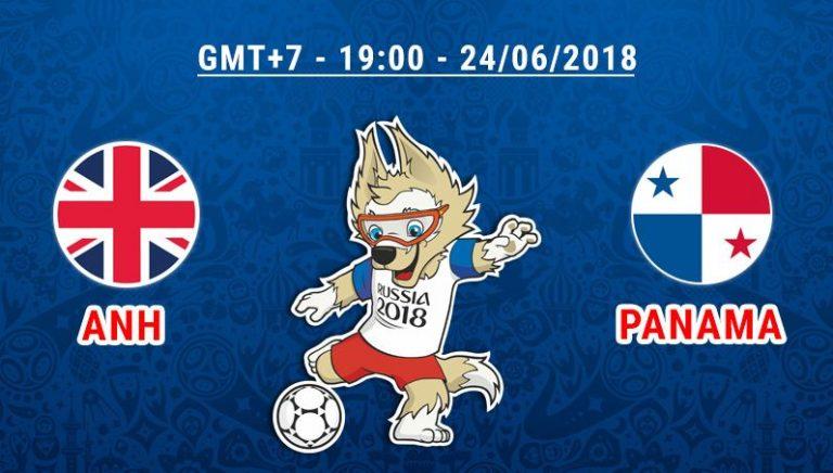 Dự đoán tỉ số, kết quả trận Anh vs Panama 19h ngày 24/6 – Bảng G