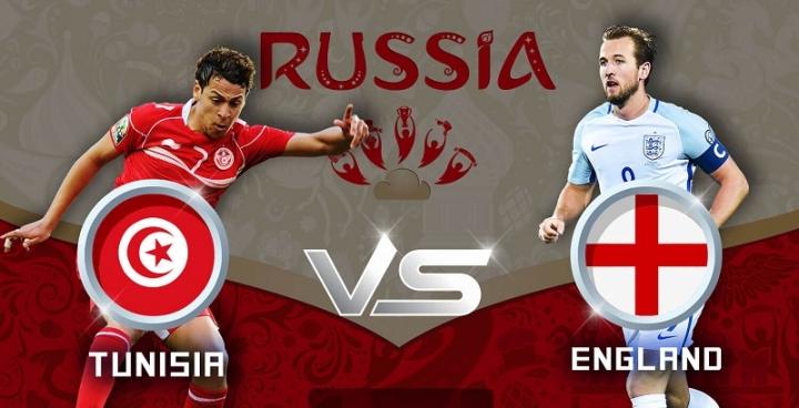 Nhận định Tunisia vs Anh lúc 1h00 ngày 19/06 World Cup 2018
