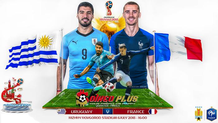 Nhận định Uruguay vs Pháp 21h00 ngày 06/07 World Cup 2018