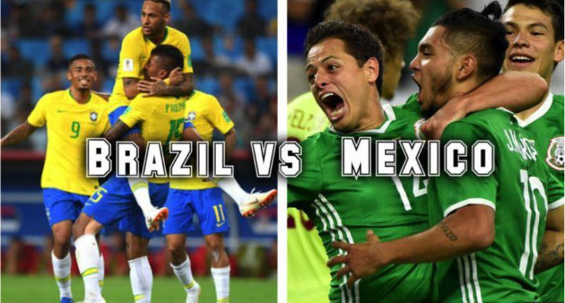 Tỷ lệ cược, kèo Brazil vs Mexico 21h ngày 02/07