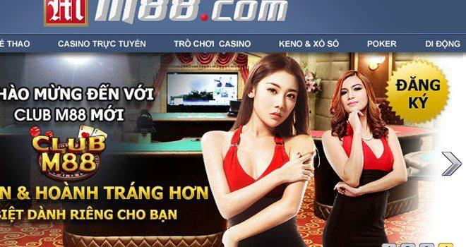 M88 nhà cái quen thuộc với dân cá cược thế giới và Việt Nam