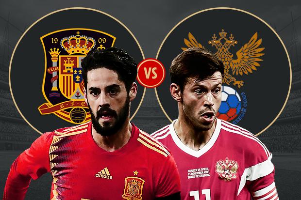 Soi kèo nhà cái Nga vs Tây Ban Nha, 21h00 ngày 1/7 World Cup 2018