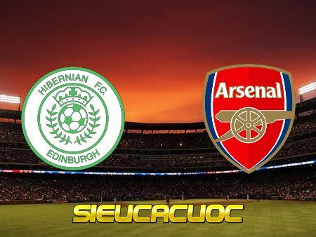 Soi kèo nhà cái Hibernian vs Arsenal – 00h00 – 14/07/2021